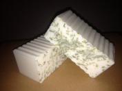 2 Bars Organic Lemongrass Spearmint Goat Milk Soap 180ml