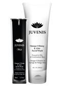 Omega-3 Hemp Facial Wash with Niacinamide (B3) and Aloe *96% Natural*
