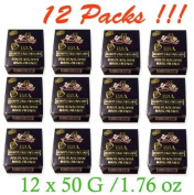 12 x K Brothers Soap Face Skin USA Soap Whitening Anti Melasma Dark Black Spots