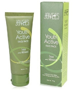 2 LOT X Jovees Youth Active Face Pack Soya and Almond 75g