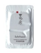 20X Sulwhasoo Snowise EX Cleansing Foam 1ml. Super Saver Than Normal Size