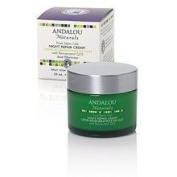 Andalou Naturals - Night Repair Cream Age-Defying Fruit Stem Cell with Resveratrol Q10 - 50ml LUCKY DEAL
