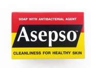 Asepso Original Hygeine Soap Antibacterial Antiseptic Healthy Body & Face 80g