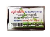 Bamboo Charcoal Facial Soap Net 22 G. Product of Thailand