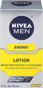 Nivea for Men Q10 Energy Lotion Broad Spectrum SPF 15, 50ml
