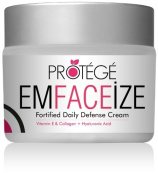 EMFACEiZE Anti-Ageing Daily Moisturiser Face Cream - Best Anti-Wrinkle Facial Cream Contains Vitamin E, Hyaluronic Acid, Lycopene, Avocado Oil, Jojoba Oil, Almond Oil, and Pomegranate Seed Oil. High Antioxidant Moisturising Cream + UNCONDITIONAL GUARANTEE