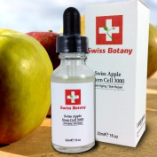 Swiss Apple Stem Cell 3000 Fights Fine Lines On Face and Neck From Ageing - Helps Rejuvenate the Skin for a Younger & More Elastic Look and Feel. Best Anti-Ageing Skin Solution - Bio-scientific Formula Only From Swiss Botany