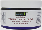 Best Anti Ageing Facial Creme & Face Cream Moisturiser with Vitamin C (5.0%) + 70% Organic Ingredients + Fades Sun Spots, Discoloration, Refines Skin Texture & Reduces Wrinkle Formation + Reduces & Minimises Existing Wrinkles +Use Once a Day Alone or A ..
