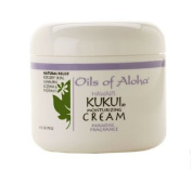 Hawaiian Kukui Moisturising Cream w/Paradise Fragrance by Oils of Aloha - 120ml