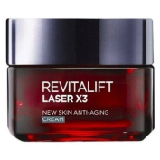L'oreal Paris, Revitalift Laser X3 Anti-ageing Moisturiser Cream, 50 Ml.