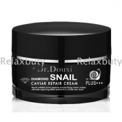 Moisturising Dr.douxi Diamond Snail Caviar Repair Cream 50g