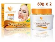 CHANDANALEPA Natural Ayurvedic Herbal Skin Cream 60g x 2