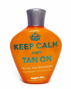 2014 Keep Calm And Tan On Facial Tan Maximizer Tanning Lotion - 100ml