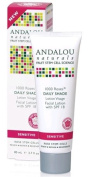 Andalou Naturals 1000 Roses Daily Shade Facial Lotion SPF 18 80ml