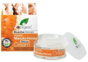 1 X 50ml Dr Organic Manuka Honey Rescue Cream Bioactive Intensive Care Emollient