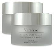 VERALYZE - 2 Jars - #1 Anti-Ageing Cream Anti-Wrinkle Treatment With PeptidesVERALYZE - 2 Jars - #1 Anti-Ageing Cream Anti-Wrinkle Treatment With Peptides
