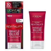 L'Oreal Revitalift Miracle Blur Instant Skin Smoother Finishing Cream, SPF 30 1.18 fl oz
