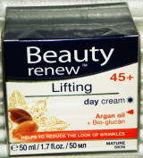 Beauty Renew 45+ Lifting Day Cream Argan Oil Factory Sealed