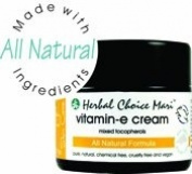 Herbal Choice Mari Natural Vitamin-E Cream 91% Organic (Mix Tocopherols) 50ml/ 1.7oz