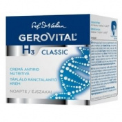 GEROVITAL H3 CLASSIC Nourishing Anti-Wrinkle Night Cream (With Hyaluronic Acid) 45+