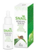 Beauty Theory : Snail Renewal Serum 30ml , Anti - Wrinkle , Firming , Whitening , Heal Acne Scar , Pore Tightening , Premium product Made in Korea