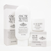 [Secret Key] Snow White Milky Pack 200g + Snow White Cream 50g Lightening