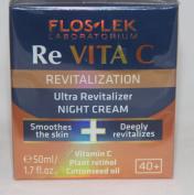 Flos Lek Laboratorium Re Vita C Revitalization Ultra Revitalizer Night Cream 50ml