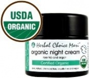 Herbal Choice Mari Organic Night Cream 50ml/ 1.7oz Jar
