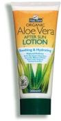 2 X 200ml Aloe Pura Organic Aloe Vera After SUN Lotion Gift Fro You