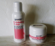 Reventin Exfoliating Polish and Intensive Moisturiser