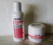 Reventin Exfoliating Polish and Intensive Moisturiser