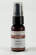1% Retinol Serum with Hyaluronic Acid, Vitamin E and Green Tea 1oz/30ml Pump Bottle
