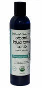 Herbal Choice Mari Organic Liquid Facial Scrub - Medium Exfoliate 236ml/ 8oz Bottle