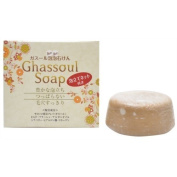 Ghassoul Soap Moroccan Lava Clay 100g 12% high-blended Ghassoul Made in Japan