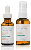 20% Vitamin C E Serum & Vitamin C Facial Toner- Treatment Set