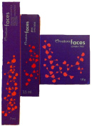 Natura Faces Colourless Mask Fantastic 7ml - Lip Gloss 3.5ml - Eyeshadow Trio 1.8 G