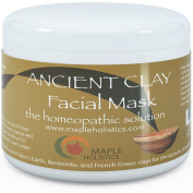 Pure Clay Mask Treatment - 100% Pure French Green, Bentonite, and Fuller's Earth Clay Combination - Highest Grade & Quality with Natural Potency - For Men and Women - Great for all skin complexions - Fully Guaranteed By Maple Holistics