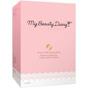 My Beauty Diary Whitening Mask, Arbutin, 10 Count