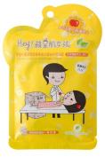 Hey! Pinkgo Girl Herbal Essence Astringent Mask 5pcs - Astringent and Brightening