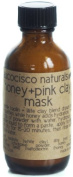 Aucocisco All Natural Honey + Pink Clay Mask