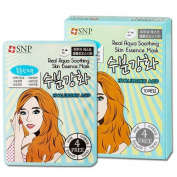 [ SNP ] POP Real Aqua Soothing Skin Care Essence Sheet Mask 25g x 10p