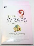 Spa Life Face Wrap Avocado & Vitamin E 3pc