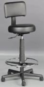 Kayline 807V Hair Cutting Stool w/Back