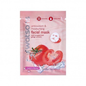 (10 Pcs.) Watsons Antioxidant & Moisturising Facial Mask with Lycopene and Ginkgo Extracts 30 Ml./Pcs. [Wazashop]