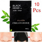 10Pcs Mineral Mud Blackhead Acne Removal Nose Pore Cleansing Mask