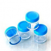4 Cute Blue Travel Compressed Paper Mask Facial Soak Bottle Mask Wet Stick Tool