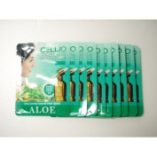 Cellio Extra Soothing Essential Mask_Aloe_10 sheets