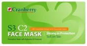Cranberry S3 C2 Face Mask with Cucumber Extract and scent - 50/Box