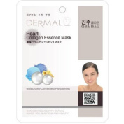 Dermal Korea Collagen Essence Full Face Facial Mask Sheet - Pearl