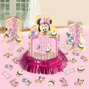 Disney Baby Minnie Mouse 1st Birthday Party Table Centrepiece Decoration Kit